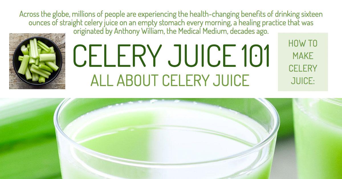 Celery Juice 101 - All About Celery Juice